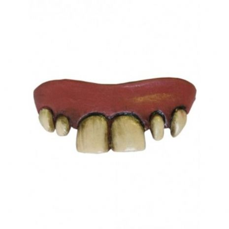 Fake False Teeth Joke Novelty Buck in Blister card Gag Trick Novelty